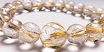 ルチル水晶の腕輪・ブレスレット