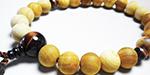 琉球檜の男性数珠・男性念珠