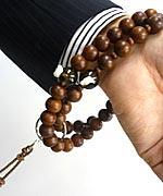 浄土宗の数珠の持ち方1