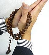 浄土宗の数珠の持ち方2