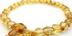 黄水晶の女性用数珠・女性用念珠