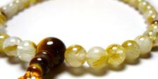 虎目石の女性用数珠・女性用念珠