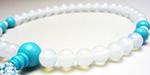 トルコ石の女性用数珠・女性用念珠