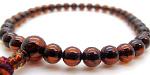 その他の琥珀の女性用数珠・女性用念珠