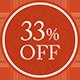 33%OFF