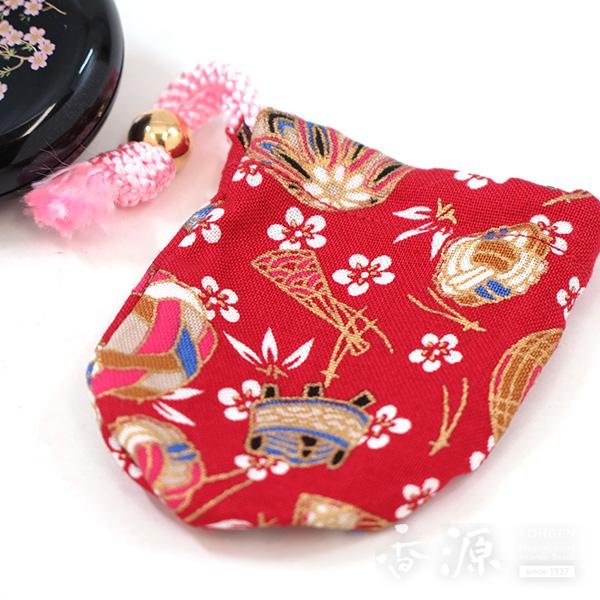 長川仁三郎商店のお香和香古今天女の香り桜(黒/赤)の拡大写真4