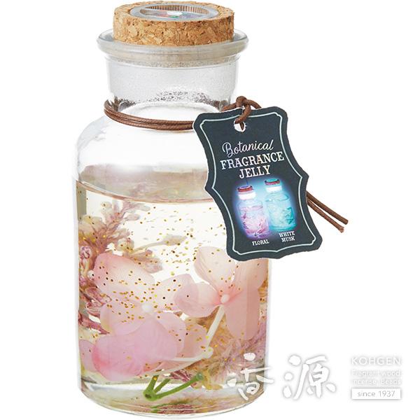 カメヤマ ボタニカルフレグランスゼリー ピンク フローラルの香り