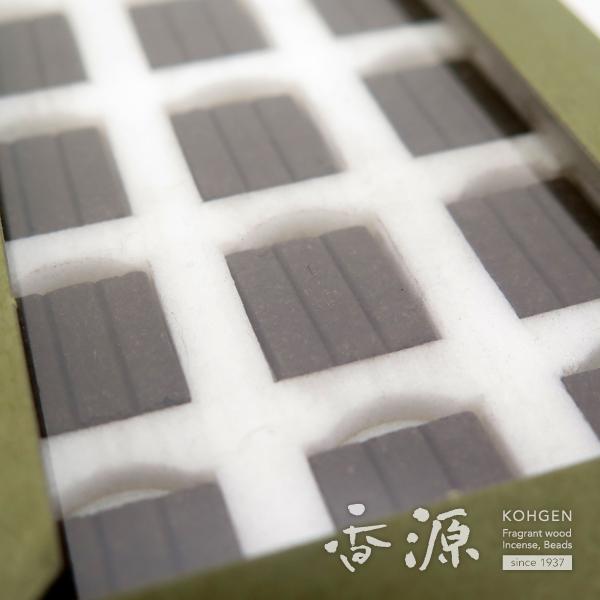 精華堂のニュー香木焚香新角割タニ沈香12枚入の詳細写真4