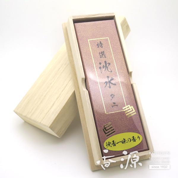 精華堂のお線香特撰沈水タニ中寸バラ詰の詳細写真3