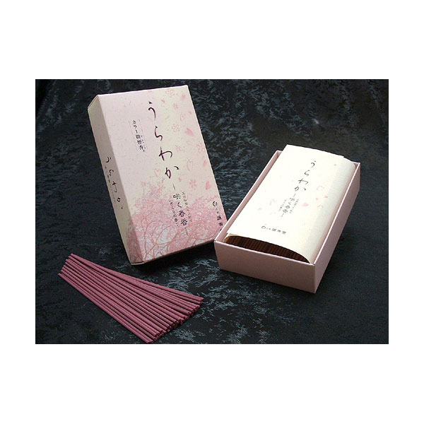 誠寿堂のお線香うらわかさくらの香り