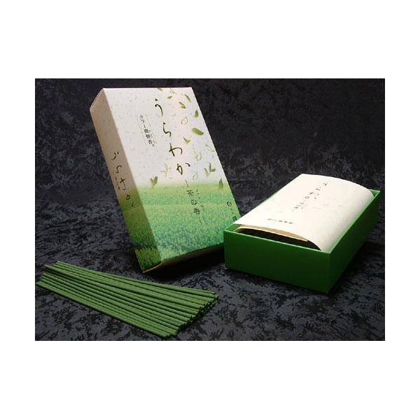 誠寿堂のお線香うらわかお茶の香り