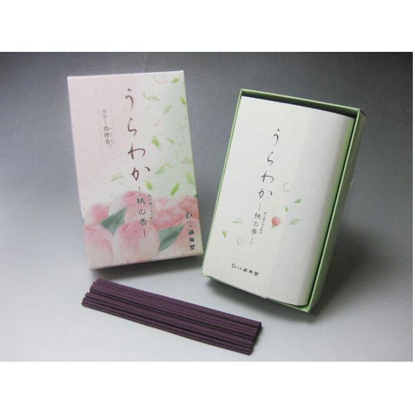 誠寿堂のお線香うらわか桃の香り