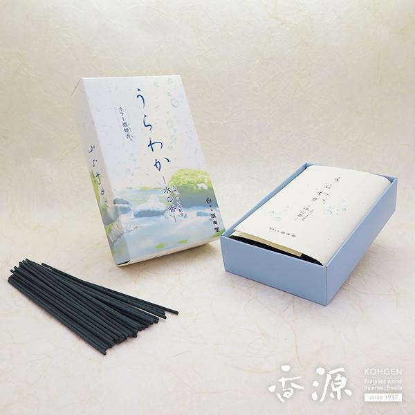 誠寿堂のお線香うらわか水の香