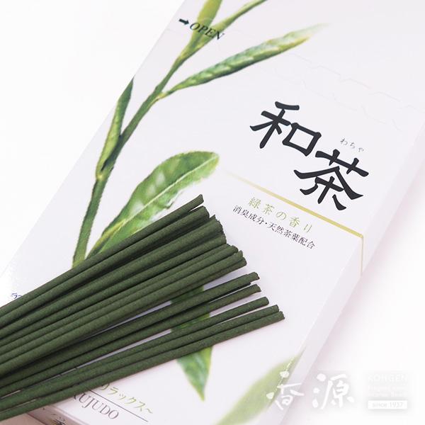 菊寿堂のお線香 和茶(わちゃ)