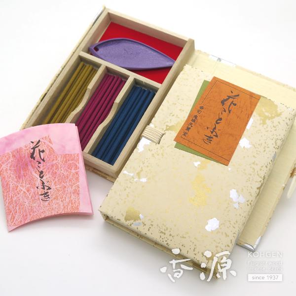 鬼頭天薫堂のお香 花ことぶき スティックミニ寸 文庫型