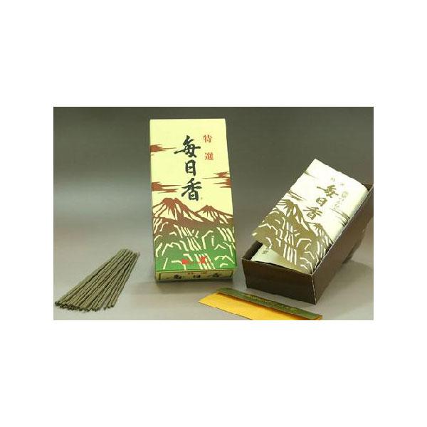 日本香堂のお線香特選毎日香バラ詰
