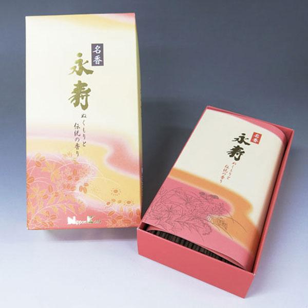 日本香堂のお線香名香永寿バラ詰