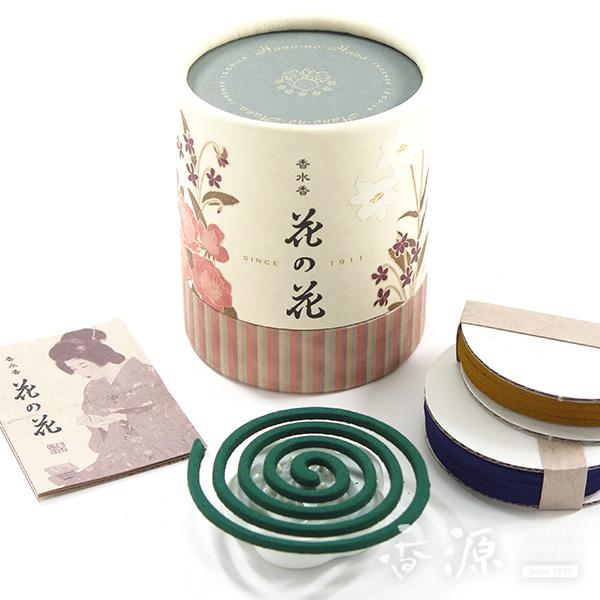 日本香堂のお香花の花3種コイル12巻入