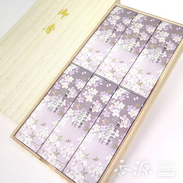 日本香堂のギフト宇野千代淡墨の桜6箱入