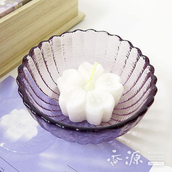 日本香堂のギフト淡墨の桜浮きローソクセット桐箱の詳細写真3