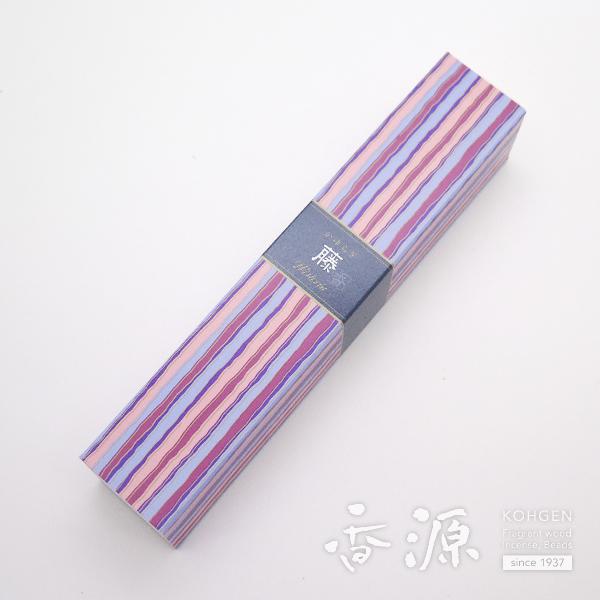 日本香堂のお香 かゆらぎ藤 スティック型
