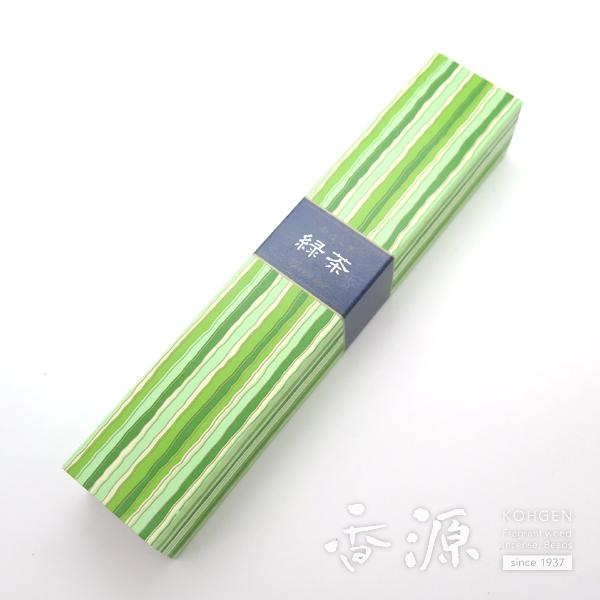 日本香堂のお香かゆらぎ緑茶