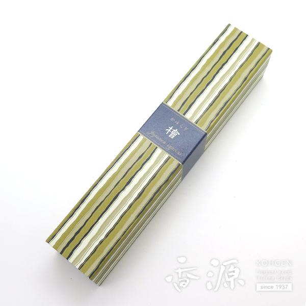 日本香堂のお香 かゆらぎ 檜(ひのき) スティック型40本入