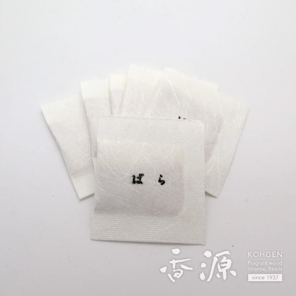 日本香堂の名刺入かゆらぎ薔薇名刺香桐箱6入の拡大写真2