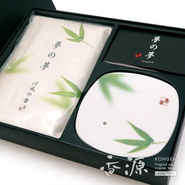 日本香堂のお香ギフト夢の夢涼風の詳細写真1
