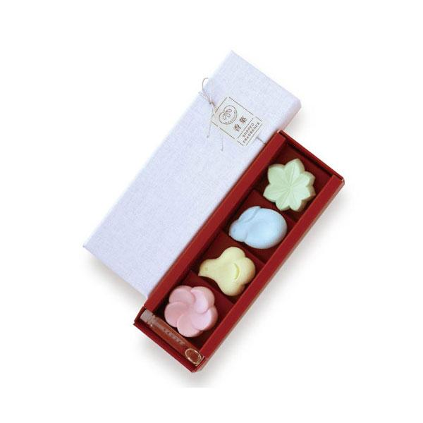 日本香堂のお香かぐのみアソート4種入オイル付