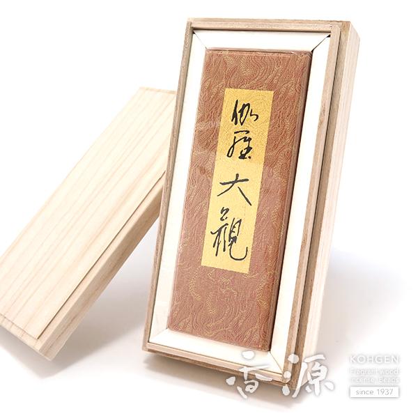 日本香堂のお線香伽羅大観バラ詰桐箱付ギフト