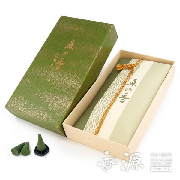 日本香堂のお香森の香コーン型24個入