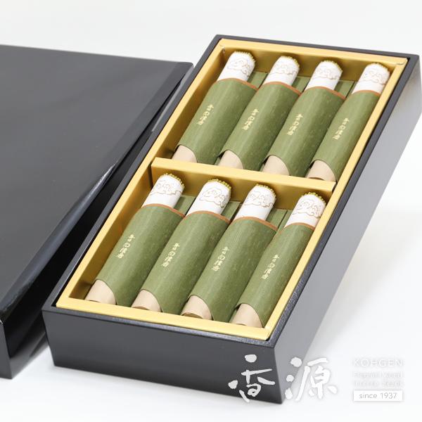 日本香堂の贈答用ギフト毎日白檀香塗箱