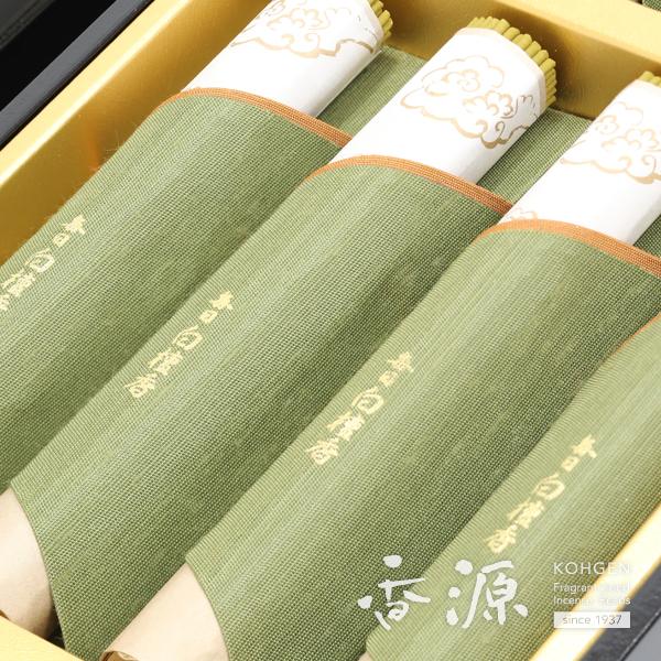 日本香堂の贈答用ギフト毎日白檀香塗箱の詳細写真1