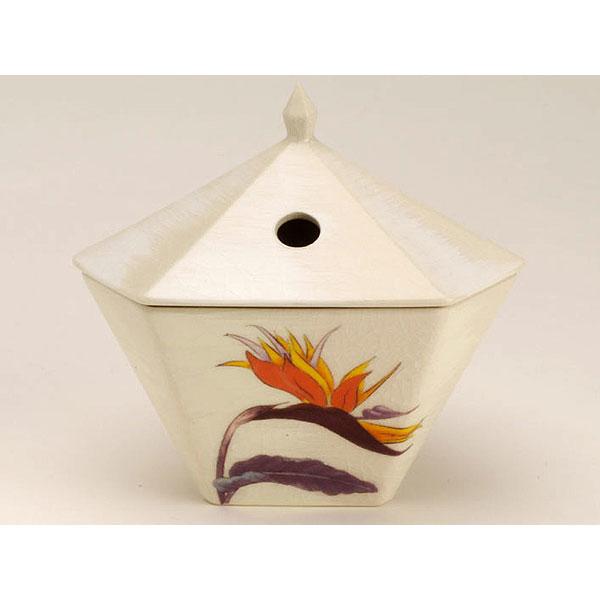 日本香堂の香炉縁香炉極楽鳥花しろ