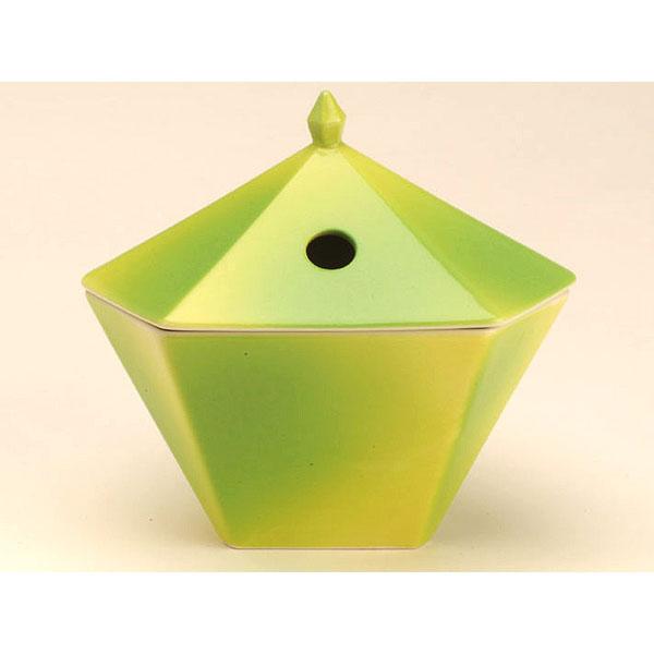 日本香堂の縁香炉黄緑