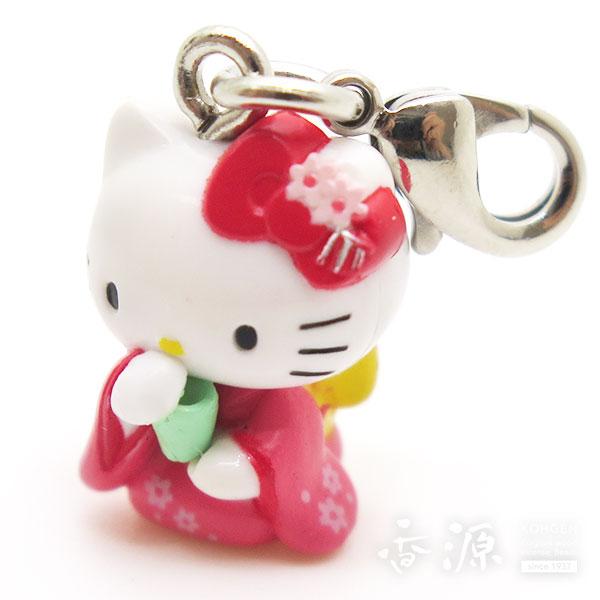 サンリオ お香キティちゃん ファスナーマスコット ピンク
