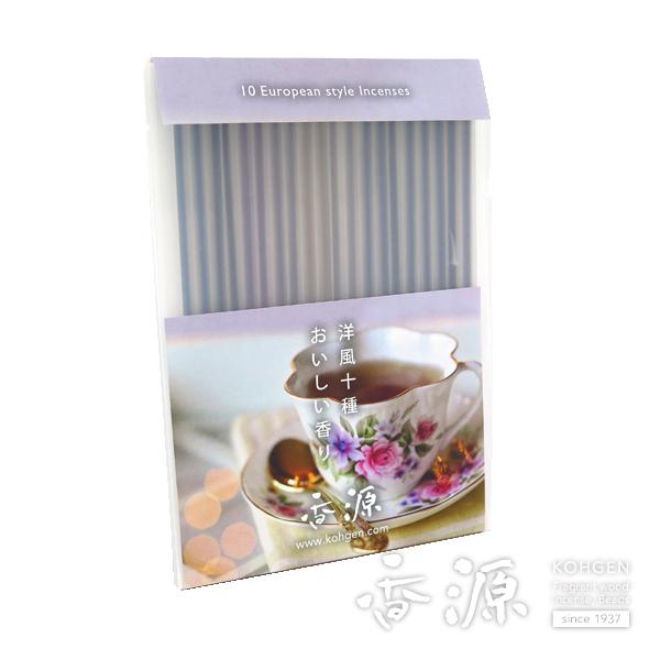 香源オリジナル 洋風お香10種 各2本入おいしい香り