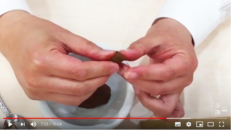 YouTubeで公開中/線香の作り方
