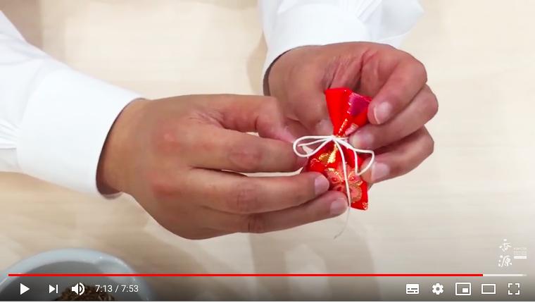 YouTubeで公開中/匂い袋の作り方